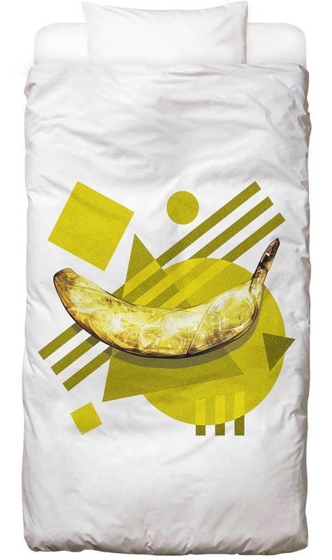 Bananen, Popart, Lamda Banana Dekbedovertrekset