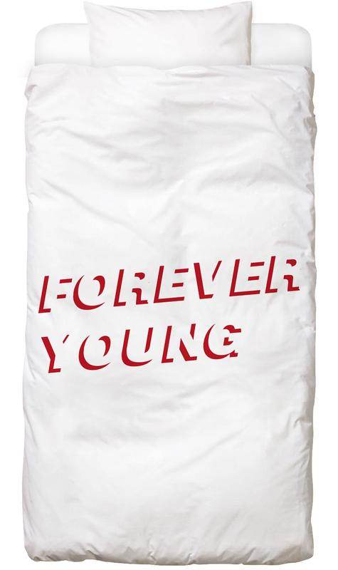 Forever Young White Bed Linen