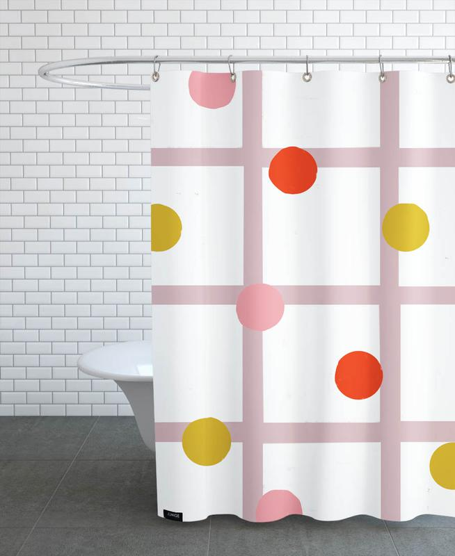 , Grid -Duschvorhang