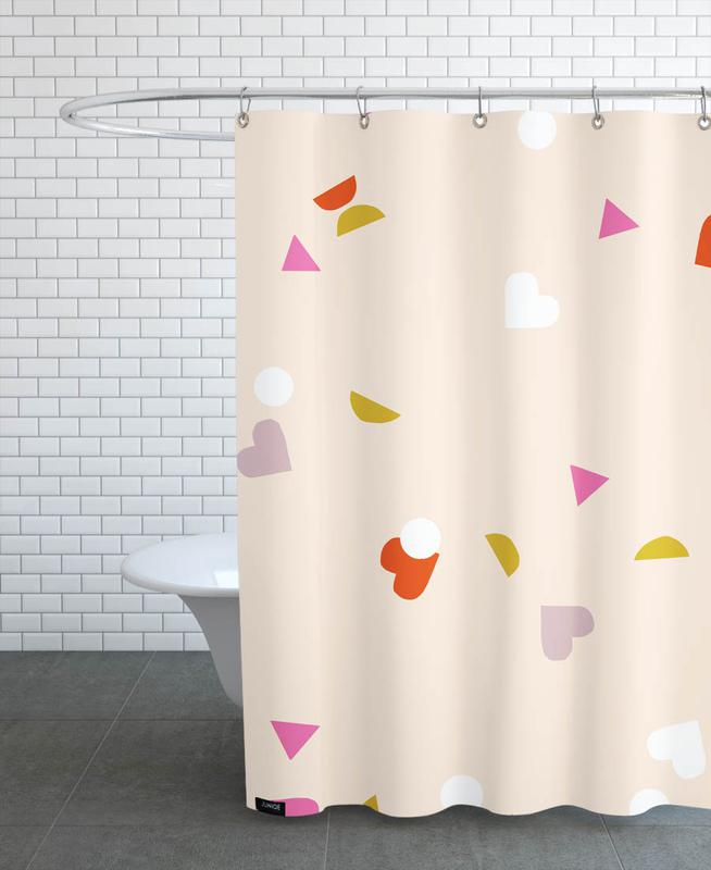 , Confetti -Duschvorhang