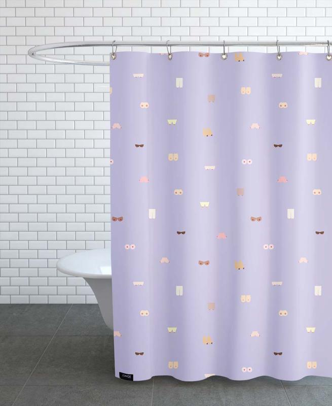Akte, Boobs -Duschvorhang