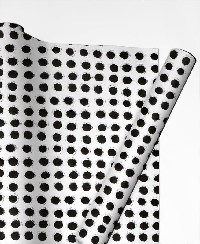 Ink Dots Gift Wrap