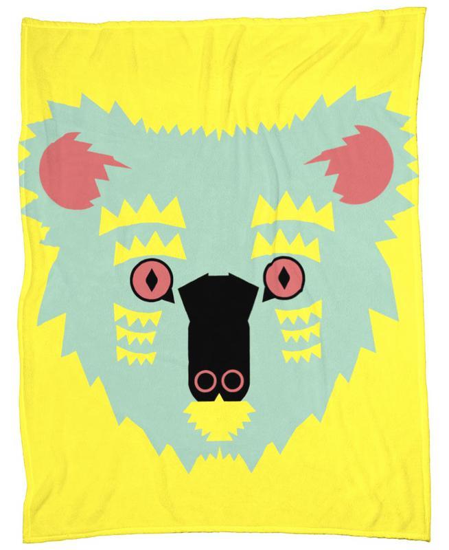 Kute Koala Fleece Blanket