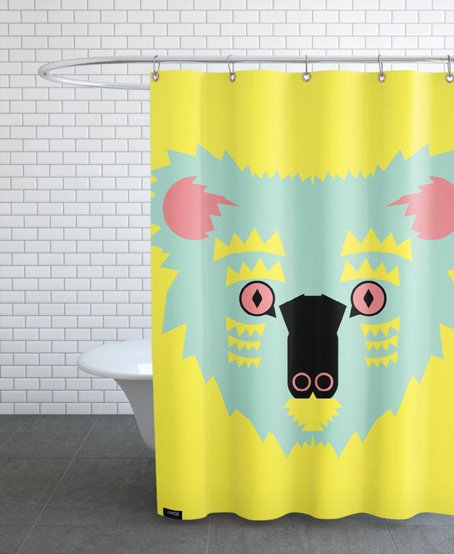 Koalas, Nursery & Art for Kids, Kute Koala Shower Curtain