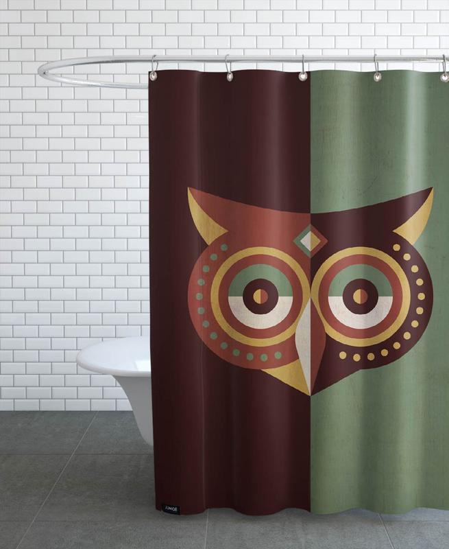 Owls, Owl Woods Shower Curtain