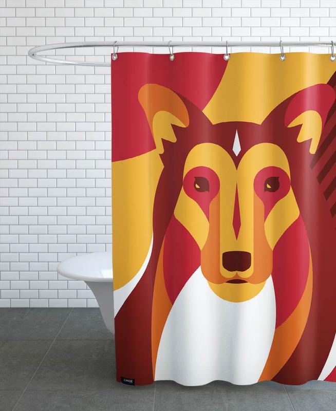 Dogs, Dog #01 Shower Curtain