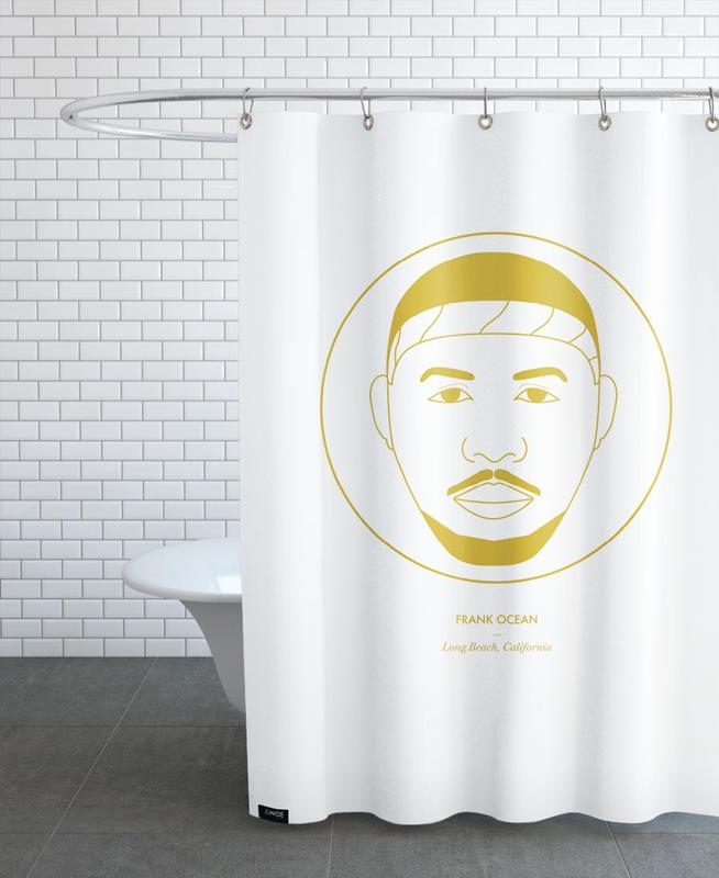 Frank Ocean -Duschvorhang