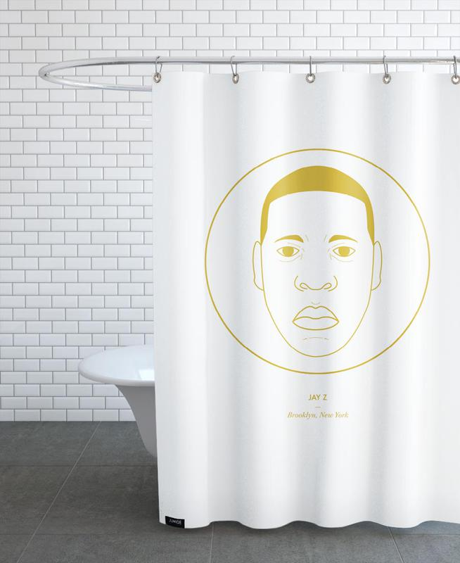 Jay Z Shower Curtain