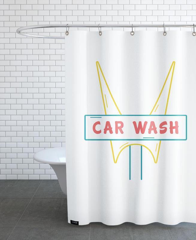 Car Wash Shower Curtain