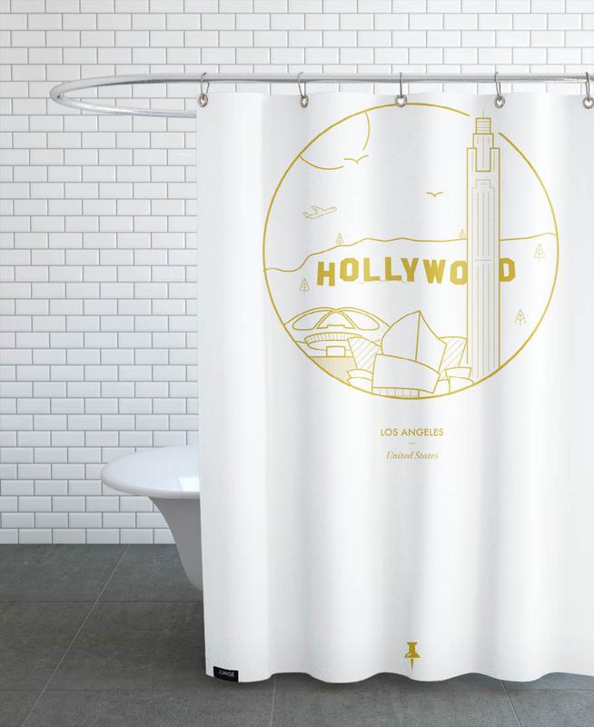 Los Angeles, Monuments et vues, Los Angeles rideau de douche