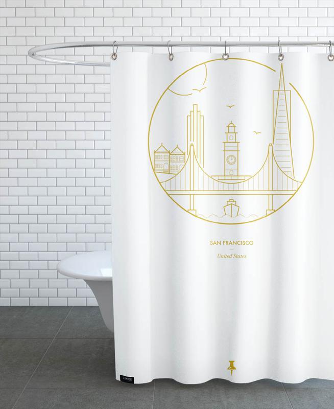 San Francisco, San Francisco Shower Curtain