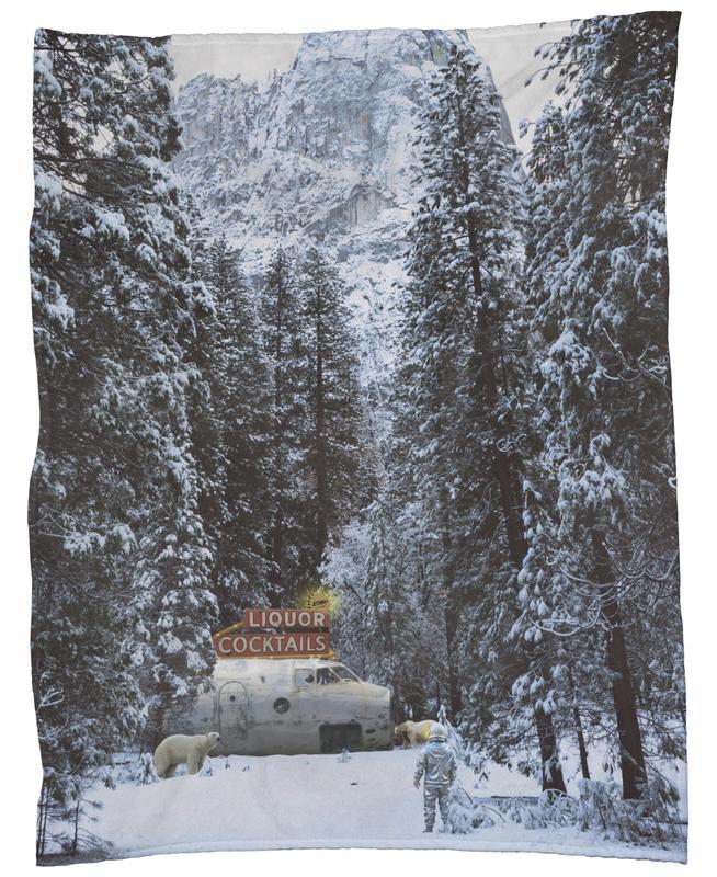 Klondike Bar Fleece Blanket