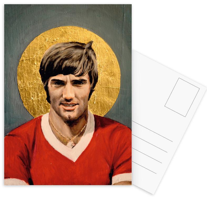 Football Icon - George Best Postcard Set