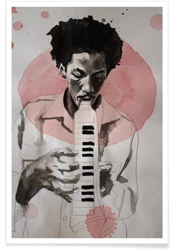 Jazz, Augustus Pablo Plakat