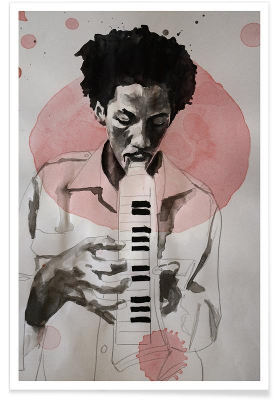 Jazz, Augustus Pablo -Poster
