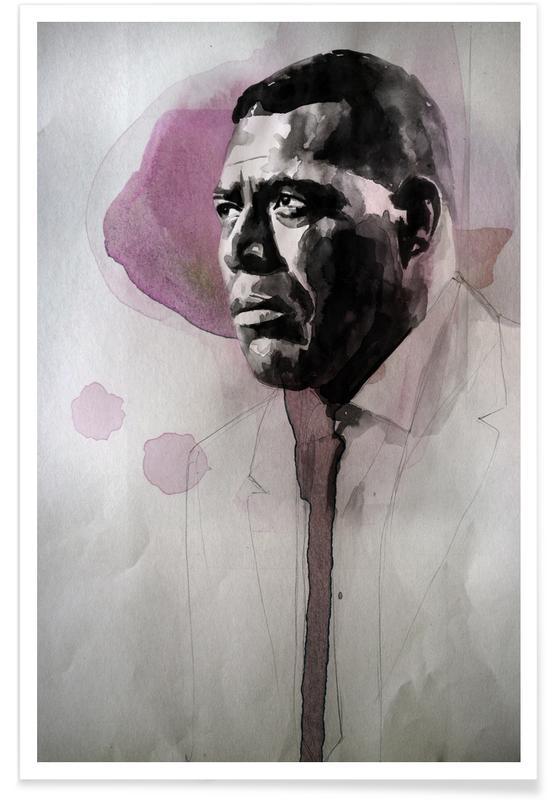 Jazz, Howlin Wolf Poster