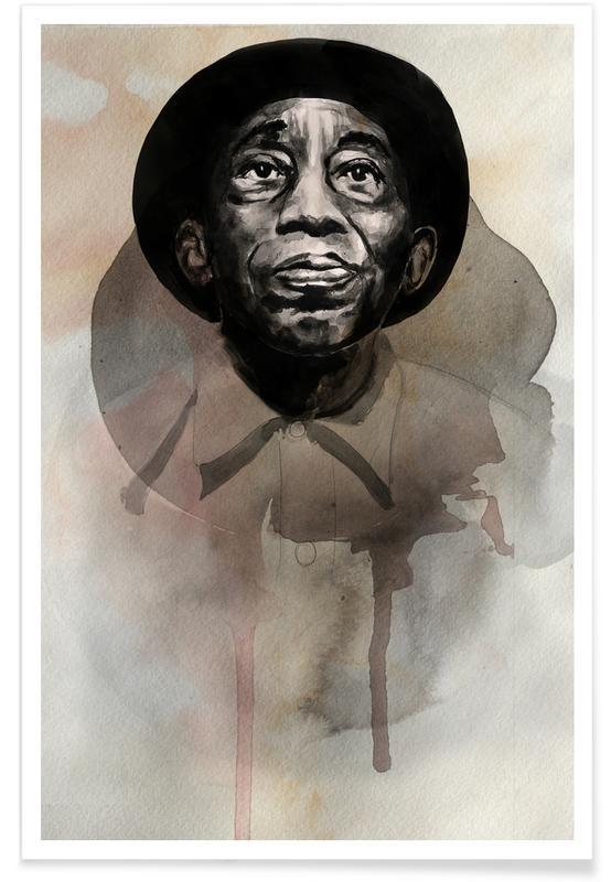 Jazz, Mississippi John Hurt poster