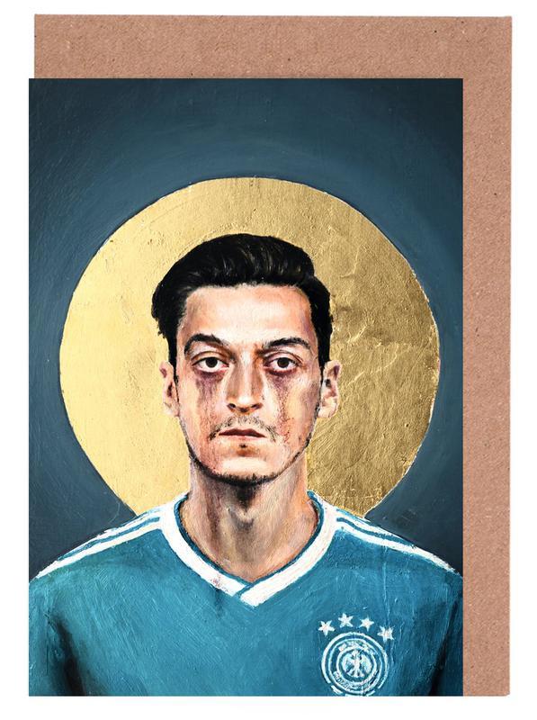 Football, Football Icon - Mesut Özil cartes de vœux