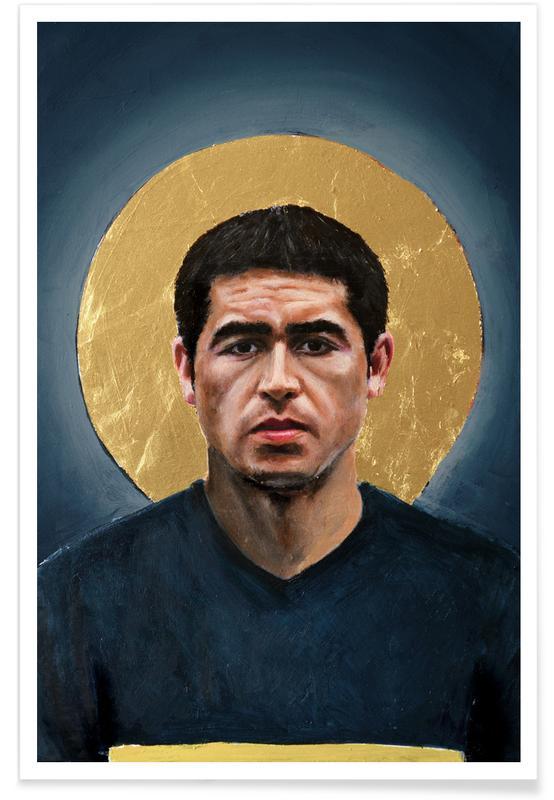 Football Icon - Juan Roman Riquelme Poster