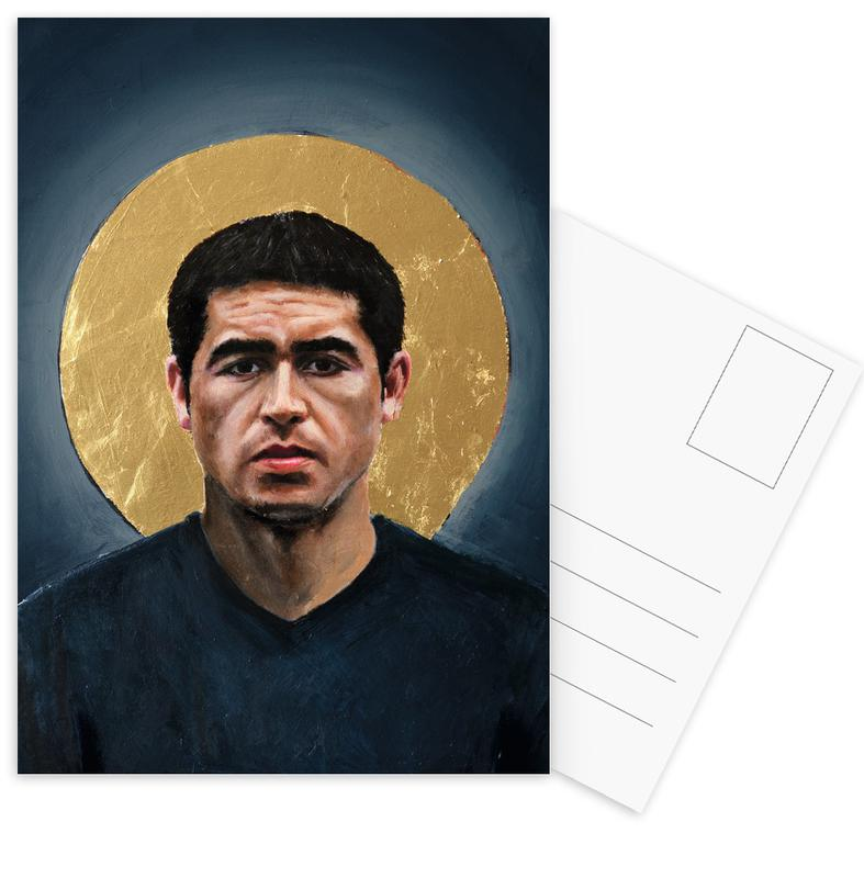 Football, Football Icon - Juan Roman Riquelme cartes postales