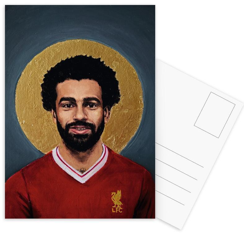 Football, Football Icon - Mohamed Salah cartes postales