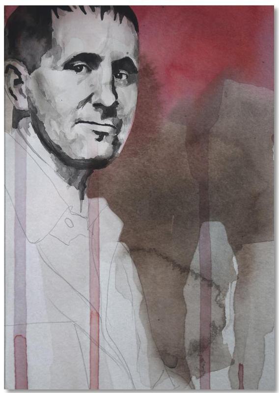 , Bertolt Brecht Notepad
