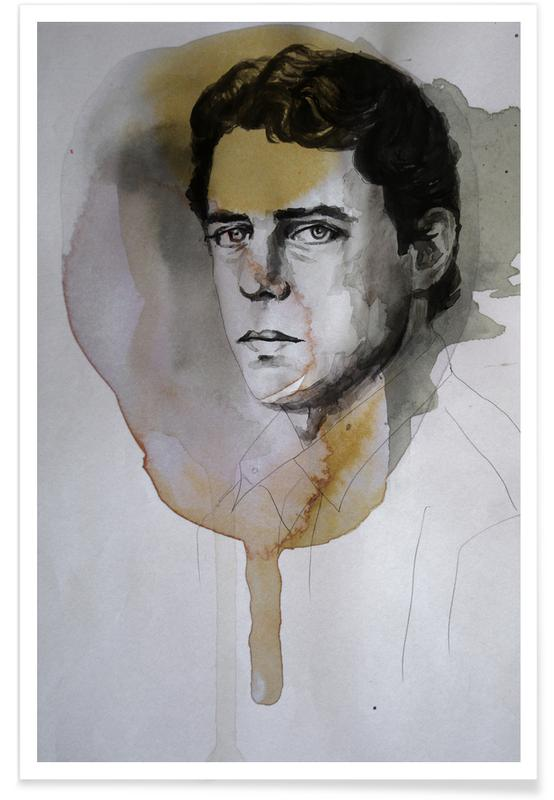 , Chico Buarque Painting Poster