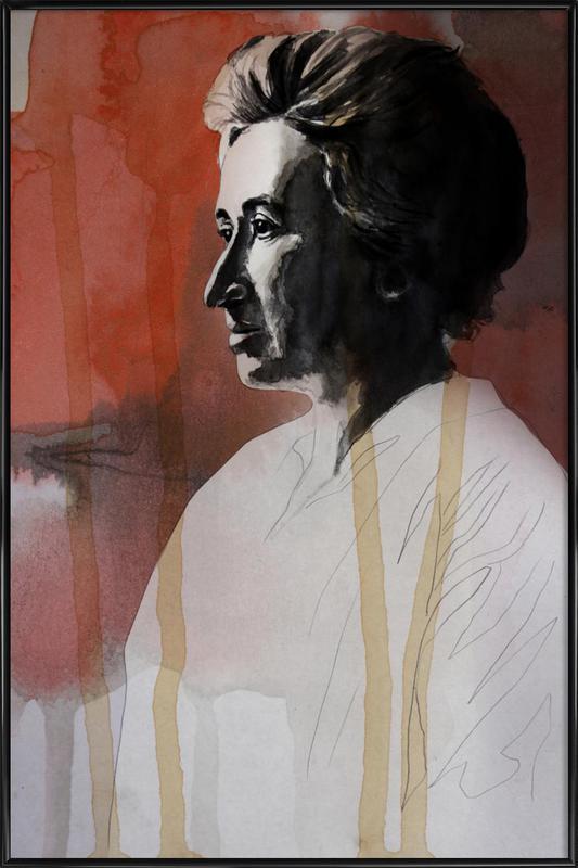 Rosa Luxemburg affiche encadrée