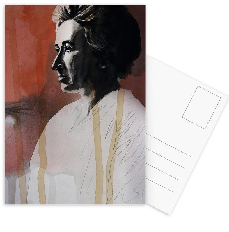 Personnages politiques, Rosa Luxemburg cartes postales