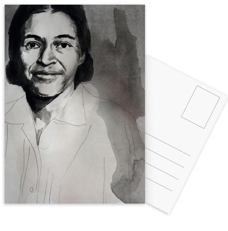 Personnages politiques, Rosa Parks cartes postales