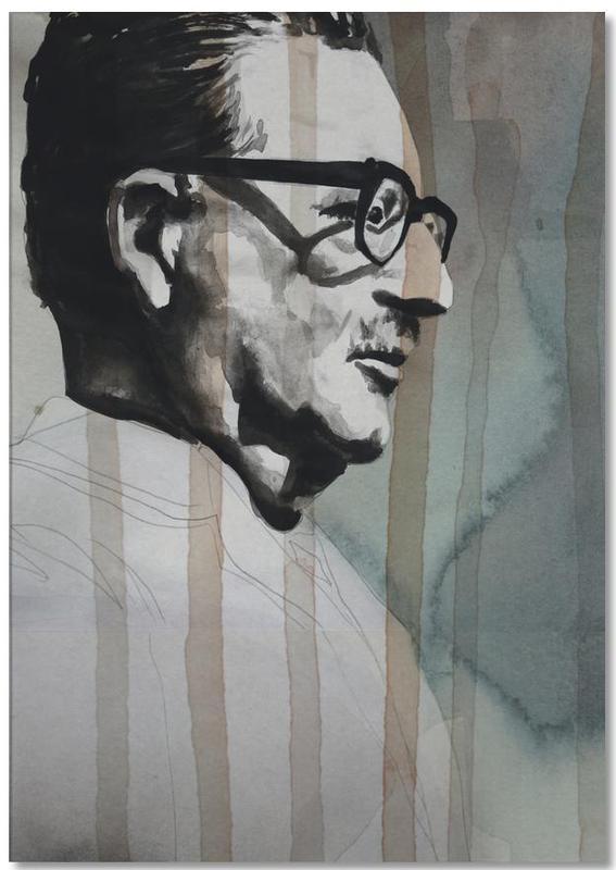 Political Figures, Salvador Allende Notepad