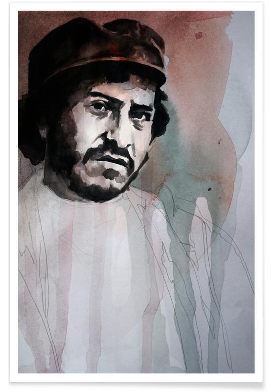 , Victor Jara Painting Poster