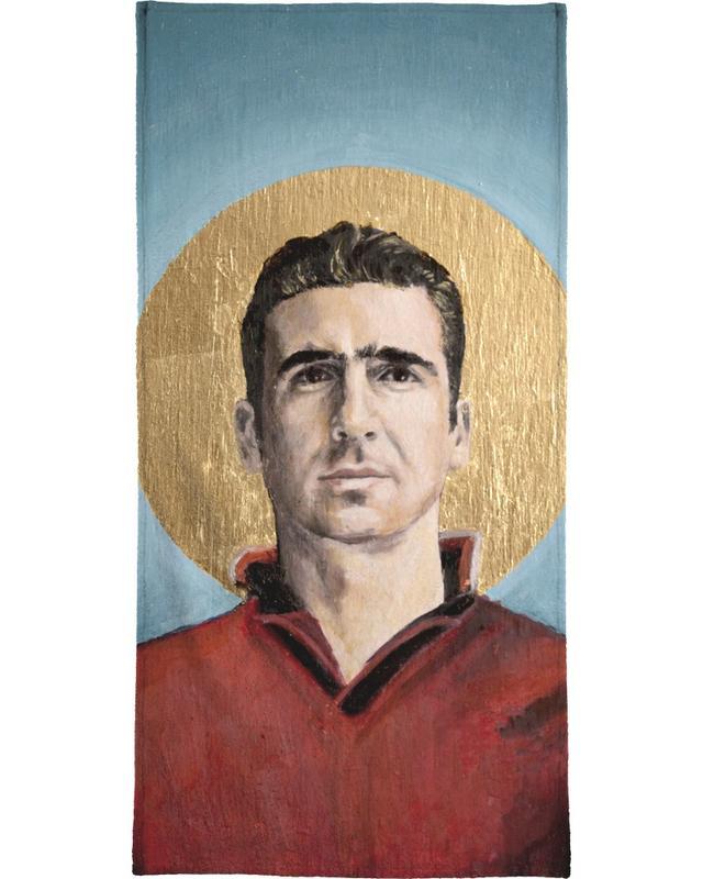 Football Icon - Eric Cantona Bath Towel