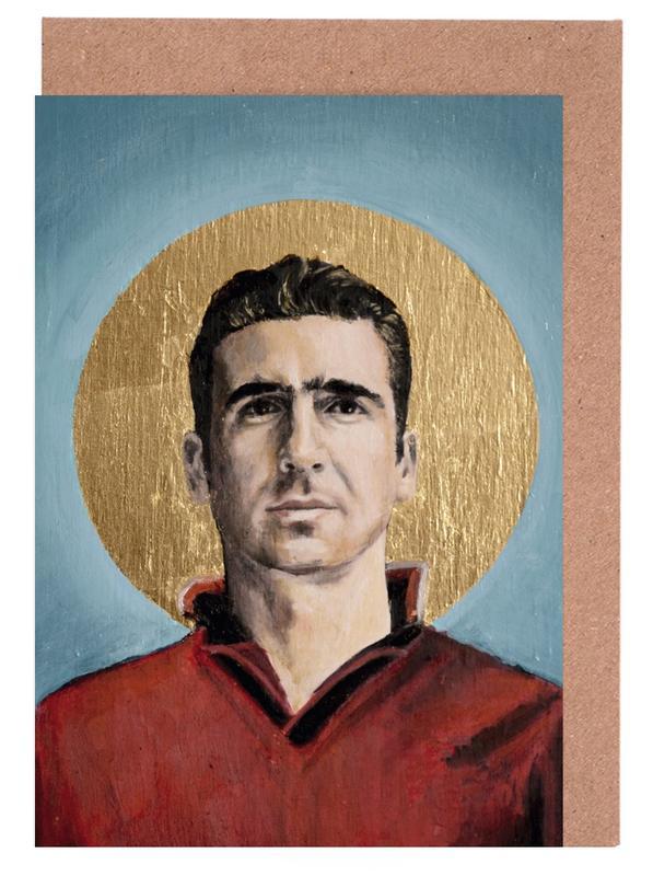 , Football Icon - Eric Cantona cartes de vœux