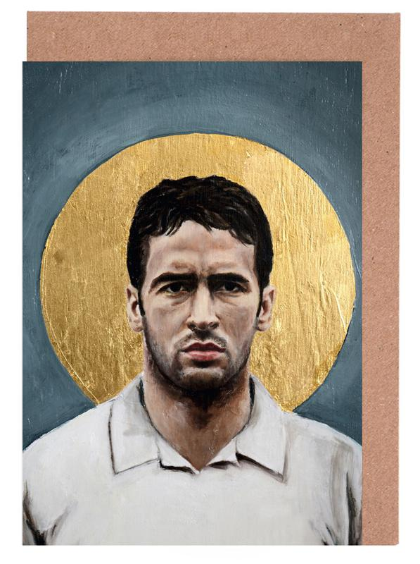 , Football Icon - Raul cartes de vœux