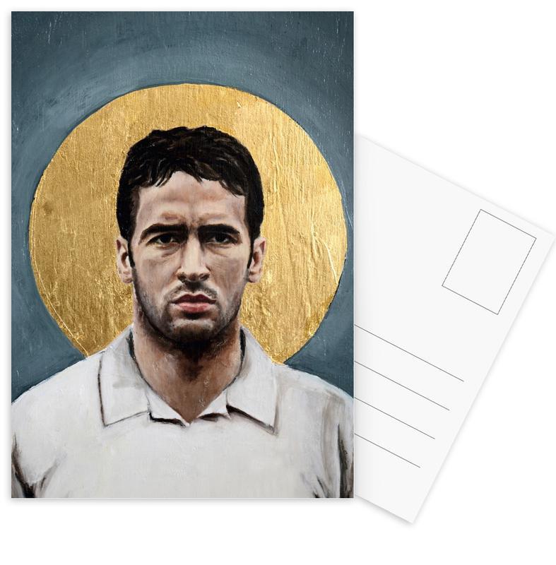 Football Icon - Raul cartes postales
