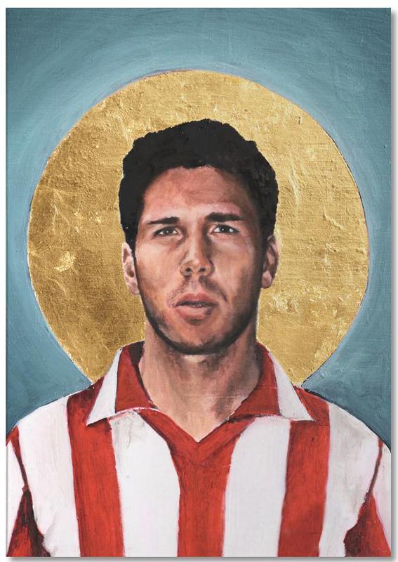 , Football Icon - Diego Simeone Notepad