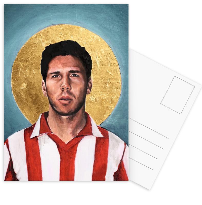 , Football Icon - Diego Simeone ansichtkaartenset