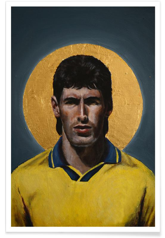 , Football Icon - Andres Escobar affiche