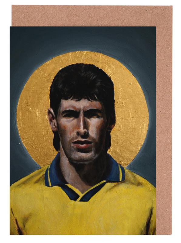 , Football Icon - Andres Escobar cartes de vœux