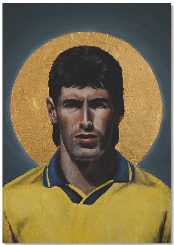 , Football Icon - Andres Escobar Notepad