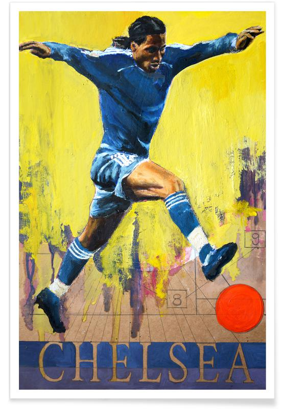 Football, One Love - Chelsea Poster