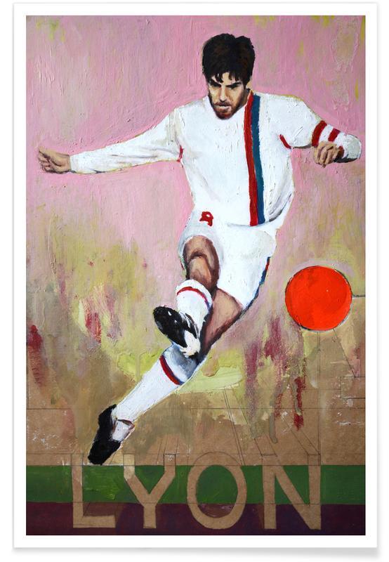Football, One Love - Lyon Poster