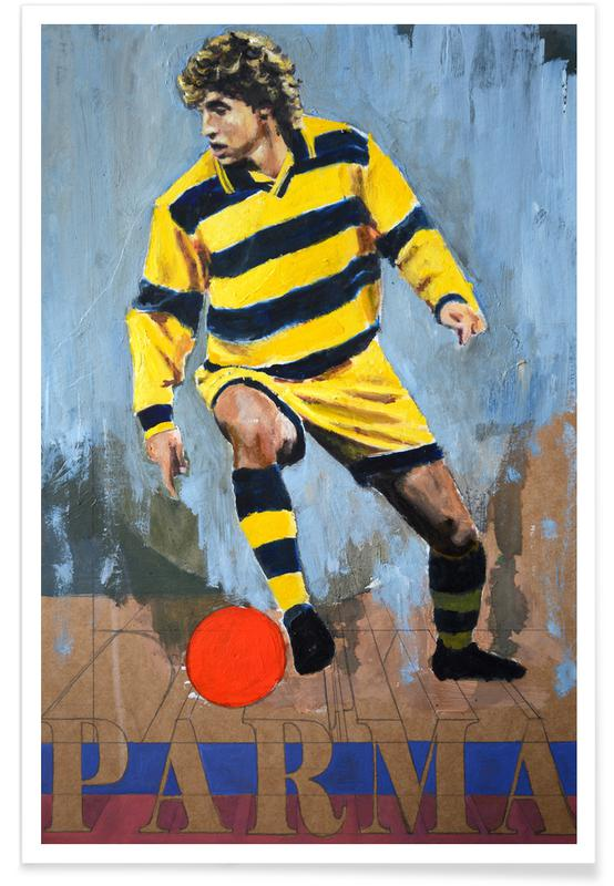 Football, One Love - Parma Poster