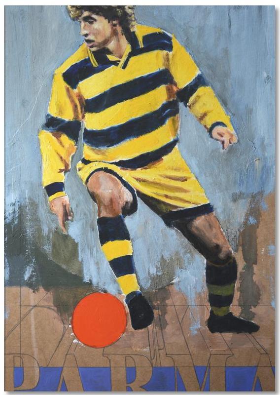 Football, One Love - Parma Notepad