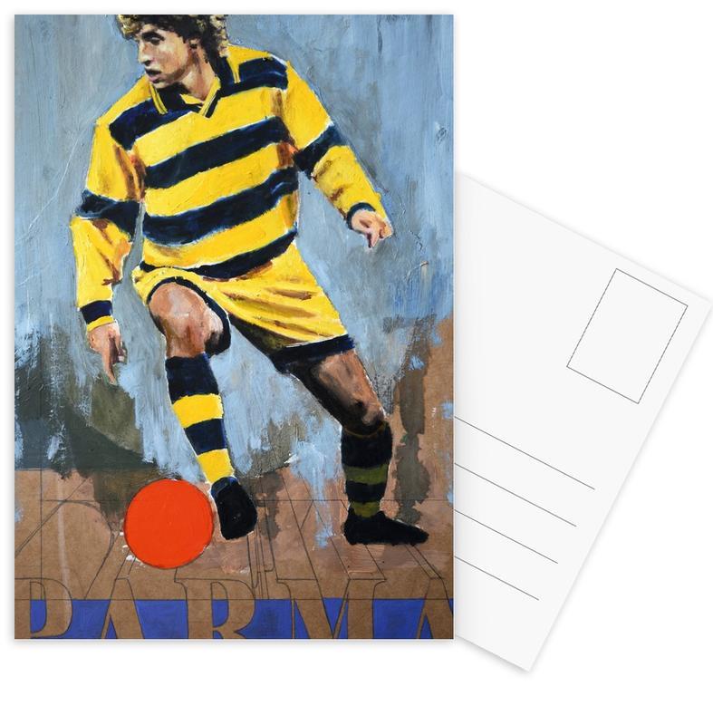 Football, One Love - Parma cartes postales