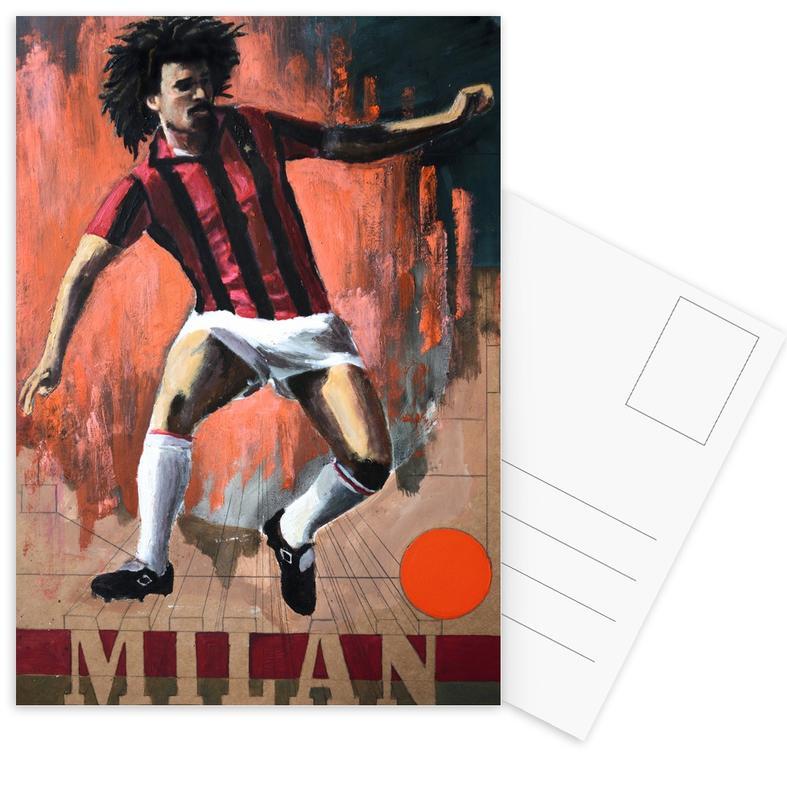 Football, One Love - Milan Postcard Set