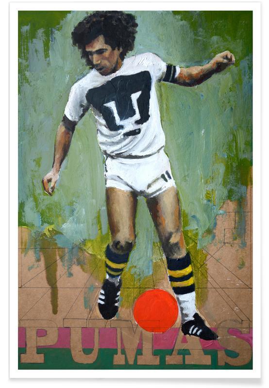 Football, One Love - Pumas Poster