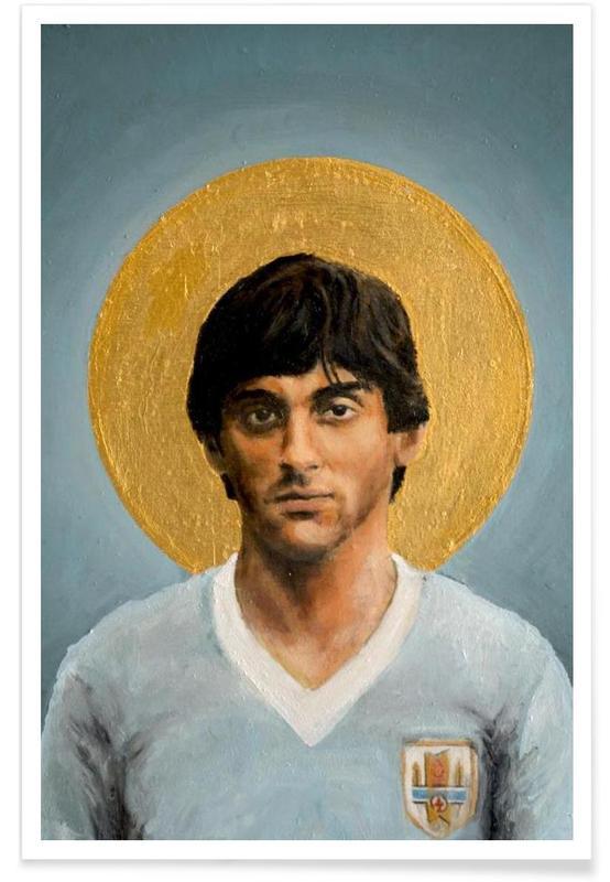 Football, Football Icon - Enzo Francescoli Poster