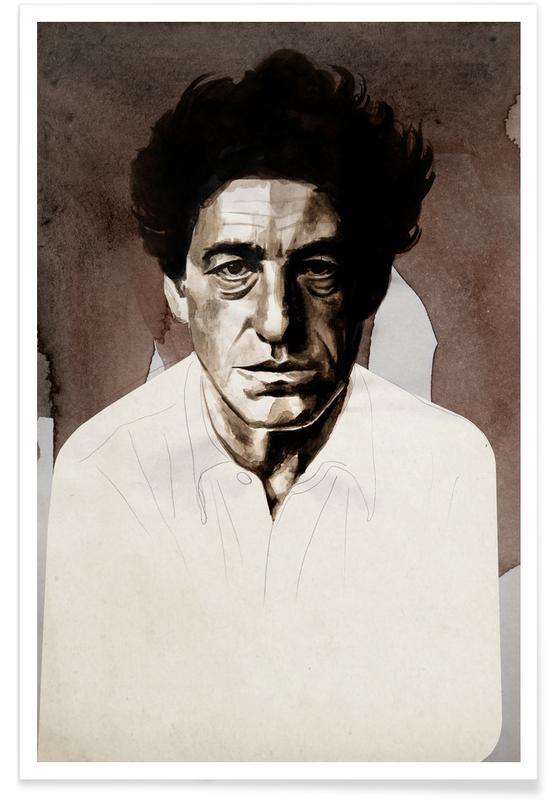 , Alberto Giacometti Poster